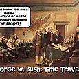 George W. Bush: Time Traveler