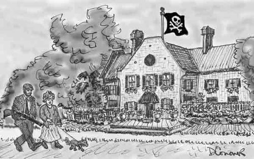 Upper-class pirates